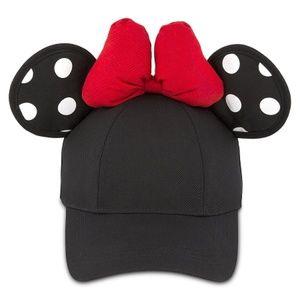 Minnie Mouse Polka Dot Ears Baseball Cap Hat